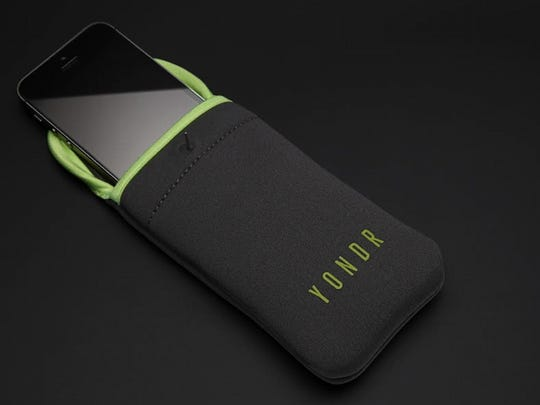 The Yondr Pouch, used at concerts and shows, locks up cellphones and renders them useless.