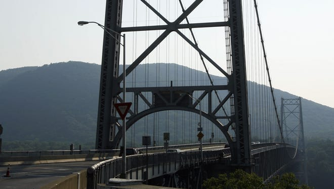 The Bear Mountain Bridge. File photo.