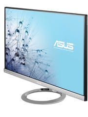 You can pick up a 27-inch widescreen LED monitor from ASUS for $269.99. Model MX279H is shown.