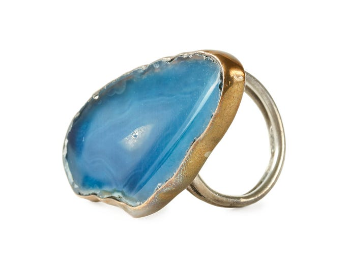 Ring in the New Year with semi-precious stones and