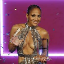 Jennifer Lopez rocks two scorching hot dresses at Billboard Latin Music Awards