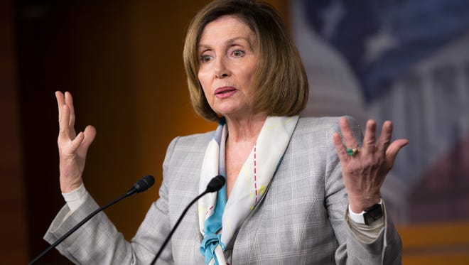 House Minority Leader Nancy Pelosi of Calif., defends Hillary Clinton's use of a private email server in the wake of a State Department oversight report.