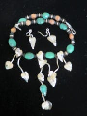 Jewelry by Lou Mancel will be featured at the Hubble & Barr Galleries during this weekend's February art walk.
