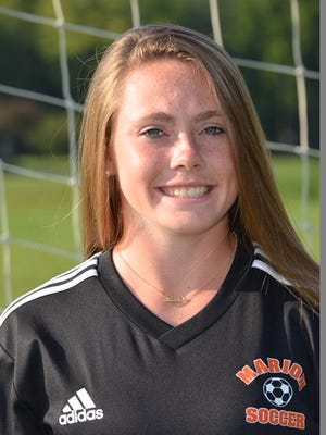 Marion sophomore Chloe DeLyser already broke the Section V record for goals on Tuesday and now has 197 in her career.