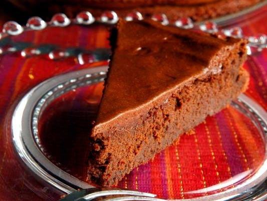 Chocolate mousse cake.  (Kylene Lloyd, The Courier-Journal) October 5th, 2010