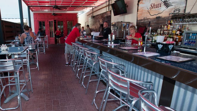 The popular Main Street dining spot Al Fresco has undergone a few changes in recent months with the addition of Shux Oyster Bar and Fusion World.