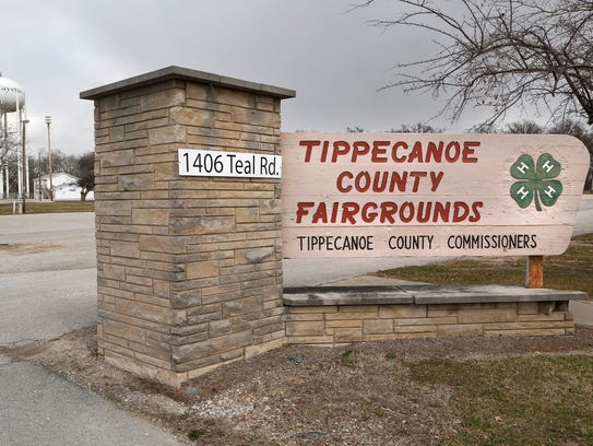 The Tippecanoe County Fairgrounds Tuesday, March 13,