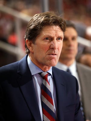Detroit Red Wings head coach Mike Babcock.
