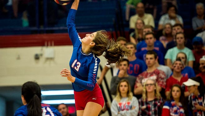 Rising junior Darby Fisher has committed to play college volleyball at the University of Louisiana-Monroe.