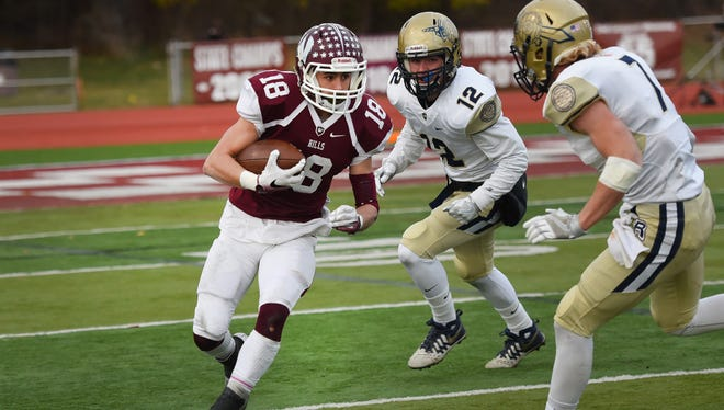 Hunter Hayek will enter Sunday's North 1, Group 4 final as Wayne Hills' leading receiver with 15 total TDs this season.