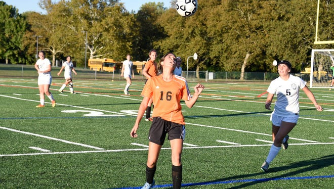 Tenafly midfielder Zoe Touma (16) was a leader on and off the field.