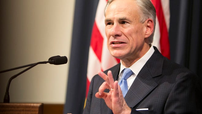 Gov. Greg Abbott calls for a special legislative session to begin on July 18 during a June 6, 2017, press conference