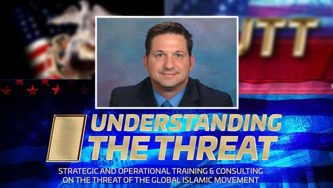 "John Guandolo, an ex-FBI agent, conducts anti-Islamic sessions nationwide on ""Understanding the Jihadi Threat to America."""