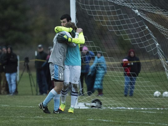 South Burlington vs. Essex Boys Soccer Semifinal 11/01/16