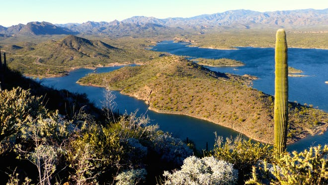 Yavapai Point was one of three new trails added to the Lake Pleasant system in November.