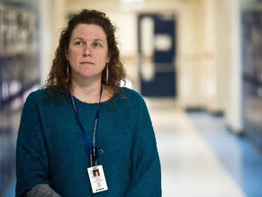 Beth Fialko-Casey, a teacher at Burlington High School,