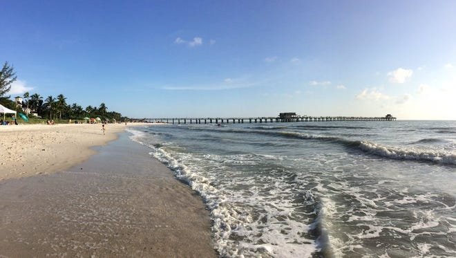 A man was pulled from water near the Naples Pier and was pronounced dead on Saturday, Sept. 3, 2016.