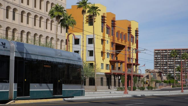 Devine Legacy on Central was the first affordable Phoenix housing development built along the Metro light-rail line. It has 65 low-income apartments for families.