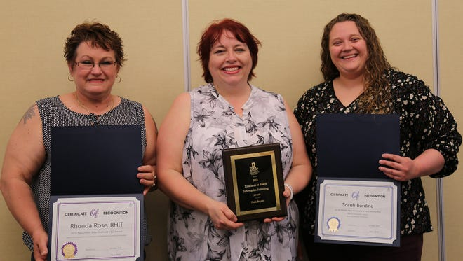Terra State Community College's Health Information Technology department held its second annual awards program at the Ronald L. Neeley Conference and Hospitality Center.