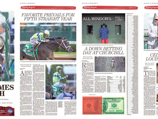 """Dream Comes Through."" Courier Journal Kentucky Derby"