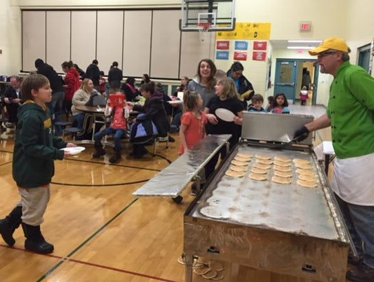 Jefferson students and their families participated