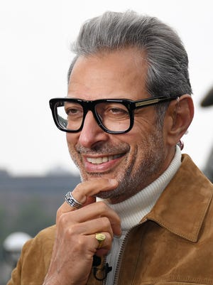 """Jeff Goldblum is still hearing about that """"Jurassic Park"""" shirtless scene 25 years later."""