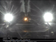 SpaceX's Falcon 9 rocket first stage is seen after