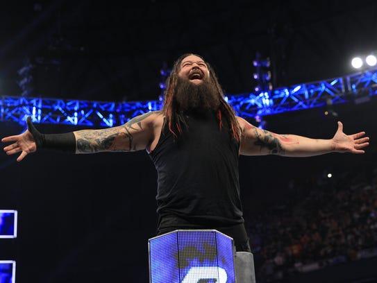 Bray Wyatt, a WWE Superstar, is among the wrestlers
