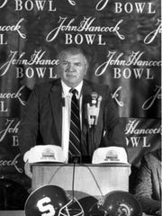 The Sun Bowl was once called the John Hancock Bowl