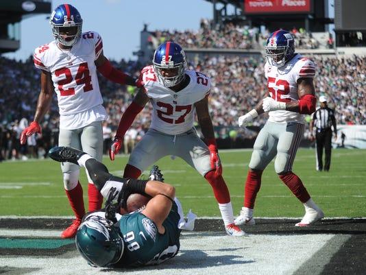 NFL: New York Giants at Philadelphia Eagles