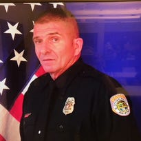 'A friend to all': El Mirage police Officer Paul Lazinsky remembered at candlelight vigil