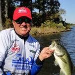 Brandon angler Jeff Roberts said a new minimum length on largemouth bass in Barnett Reservoir should bring improved fishing in coming years.