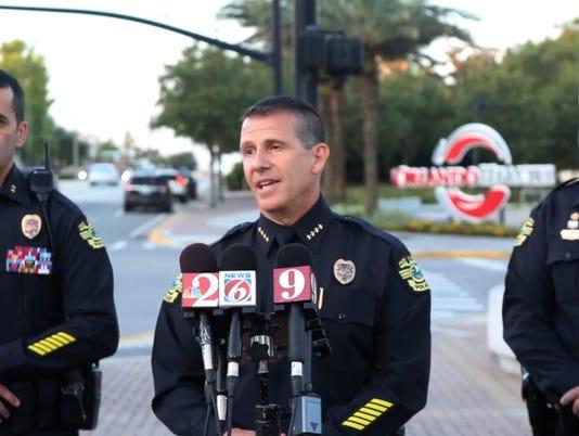 AP OFFICER SHOT ORLANDO A USA FL