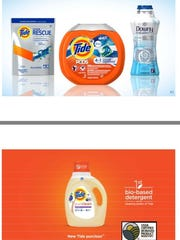 P&G's Tide detergent is offering a formulation for athletic wear and a more environmentally-friendly label.