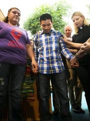 Luis Lopez-Acabal took sanctuary at University Presbyterian