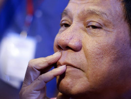 Philippines' new president, known as 'the punisher,' has no regrets