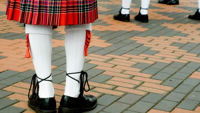 An Oregon man was accused this week of shoplifting items and stashing them in his kilt.