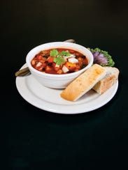 Cornerstone restaurant vegetarian chili.