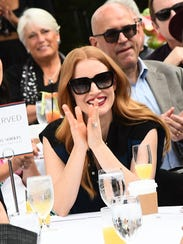 Jessica Chastain was the winning director Aaron Sorkin's