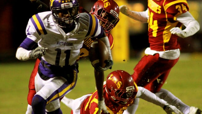 Hattiesburg player Jordan Murphy is one of the few local players signing with a Division-I college in 2017.