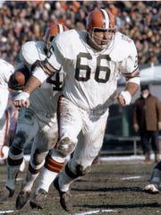 Offensive lineman Gene Hickerson earned Hall of Fame honors for the Cleveland Browns and was an anchor up front for the 1964 NFL Champions.