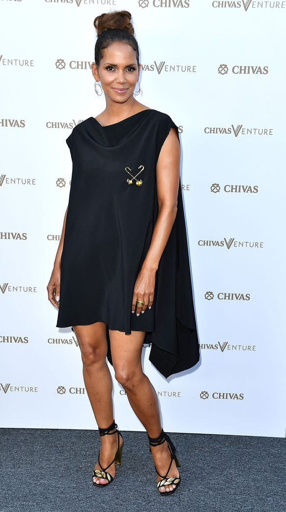Halle Berry attended an event in Los Angeles Thursday.