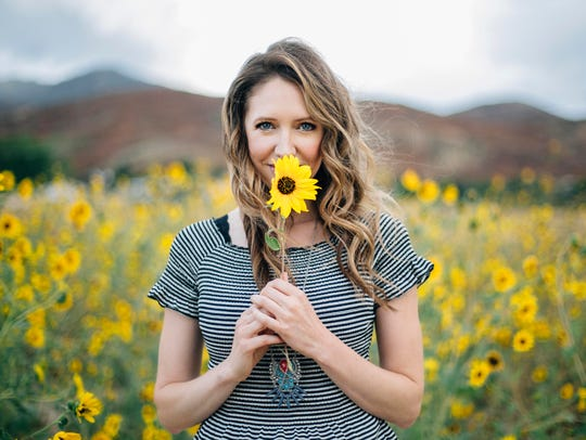 """Reno native April Meservy's cover of the U2 song, """"With"""