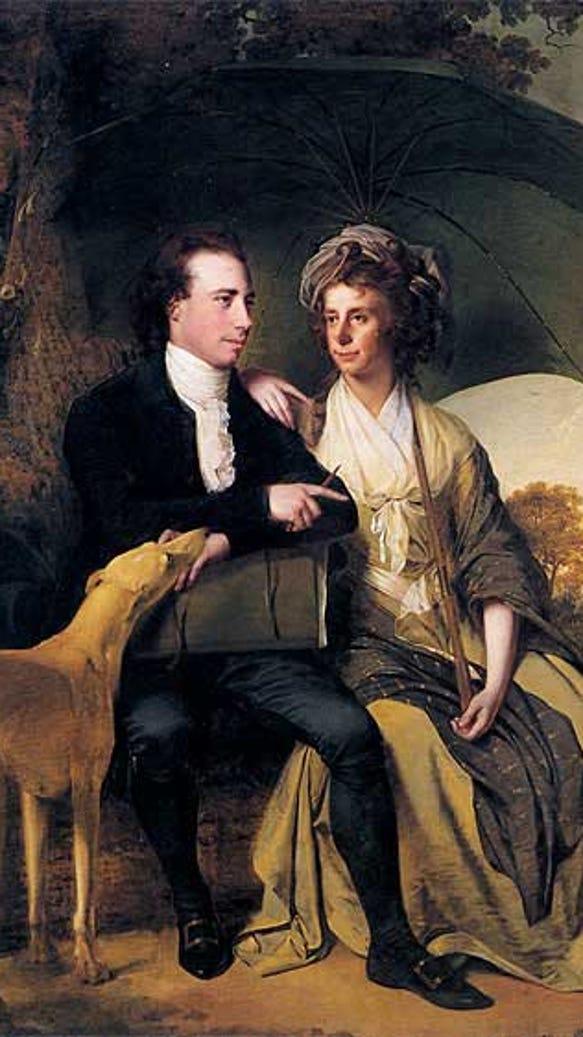 Thomas Gisborne and wife Anne