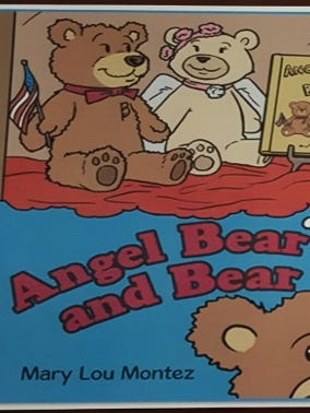 """Former El Pasoan Mary Lou Montez will read from her children's book, """"Angel Bear and Bear, on Saturday at Barnes & Noble at the Fountains of Farah."""