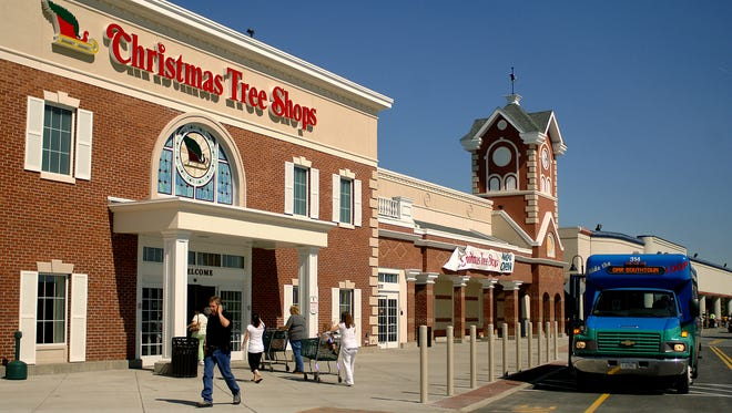 The Shoppes at South Hills, formerly known as the South Hills Mall, includes the Christmas Tree Shops, Bob's Discount Furniture and ShopRite.