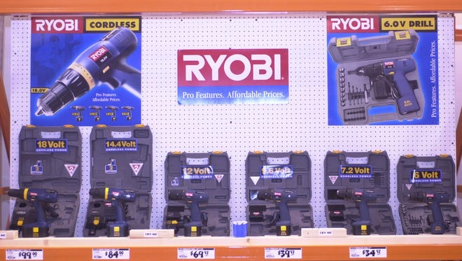 TechTronic Industries  makes power tools and other products sold at Home Depot under the Ryobi brand.