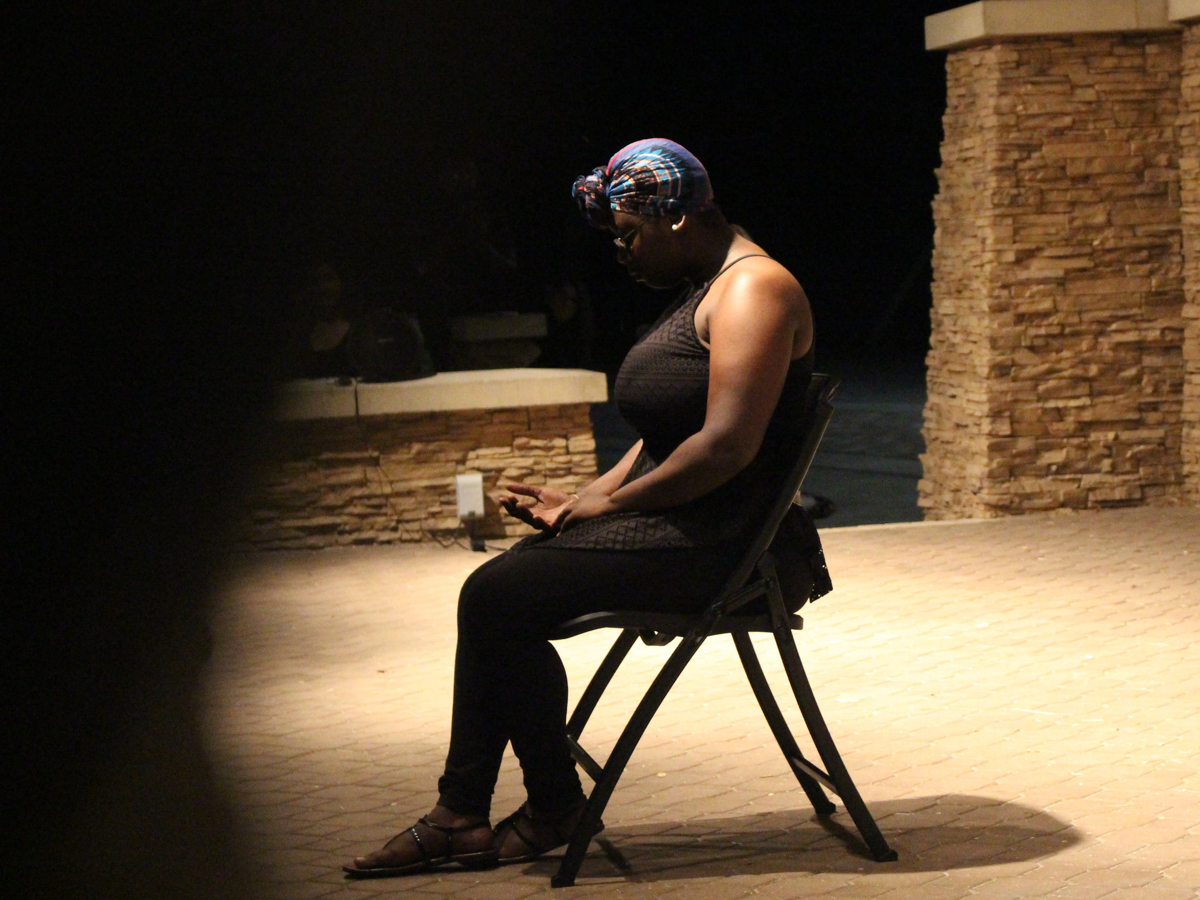 "Dominique Cudjo, a Florida Gulf Coast University student, performs ""Shade and Shadow,"" an original piece of spoken word, and ""The Lost Summer,"" a transcript from S(he) Will Fade."