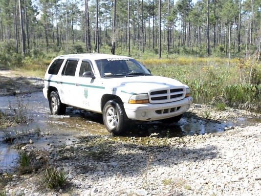 Blackwater State Forest-Military Training