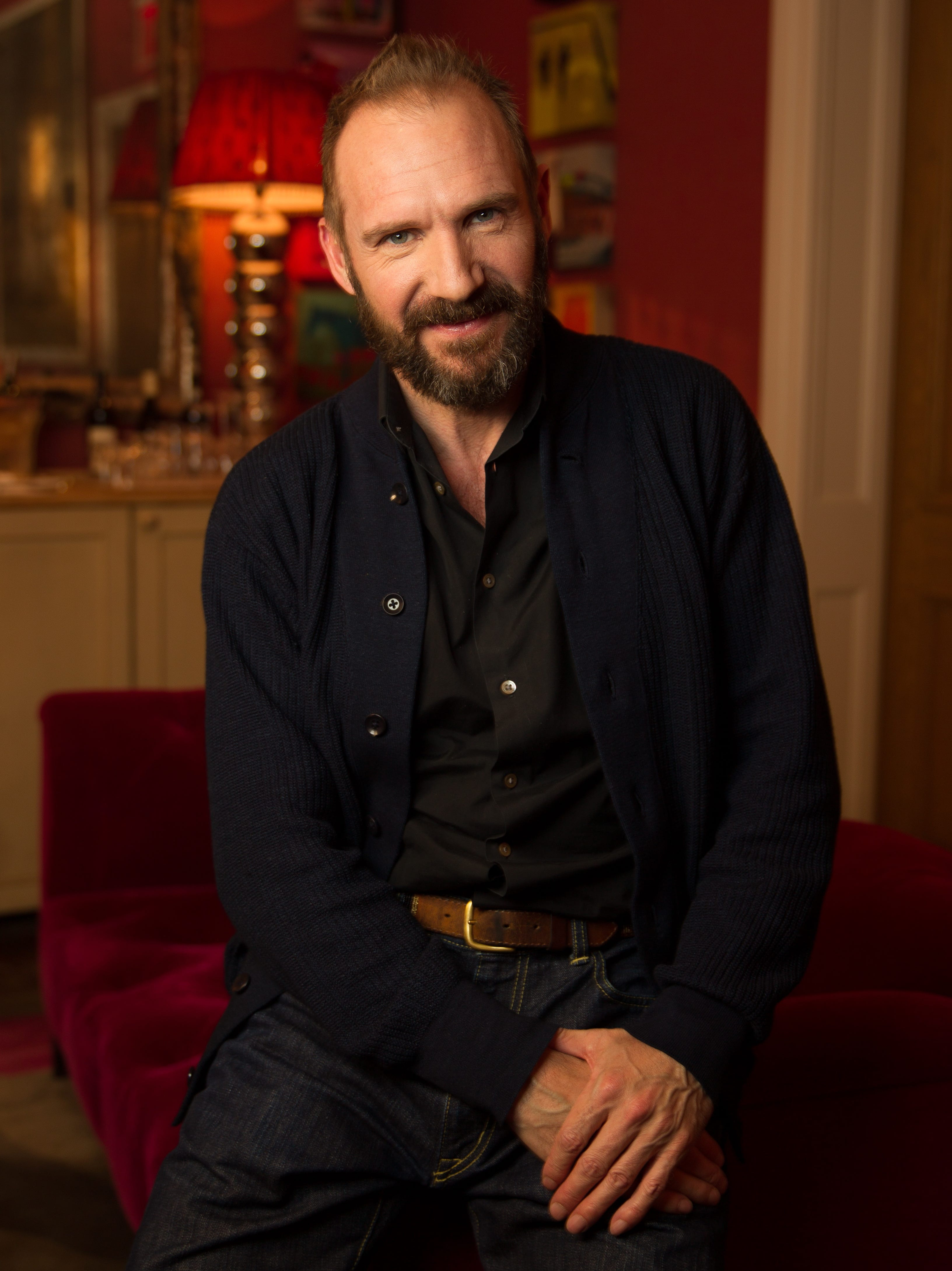 Ralph Fiennes Has A Grand Time